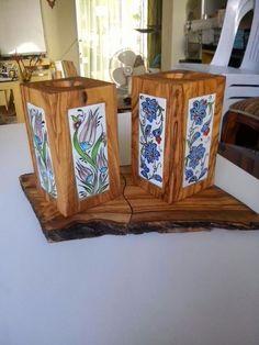 Nurcan orman - #Nurcan #Orman Decor, Glass Painting, Handmade Tiles, Wood Crafts, Wood Art, Home Decor, Talavera Pottery, Turkish Pottery, Tile Art