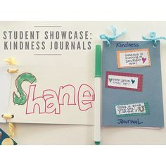 Last week of Giving Artfully Kids Summer Camp!  Students started the week by making their own Kindness Journals to fill with ideas about kindness and acts of kindness they observe.