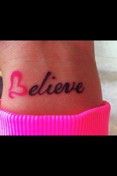 Small word tattoo<3
