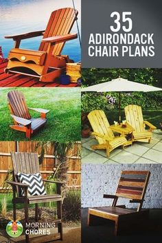 35 Free DIY Adirondack Chair Plans Part 72