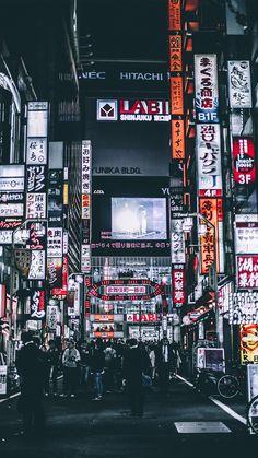 Tokyo city night lights widescreen desktop mobile iphone android hd wallpaper and desktop. Aesthetic Japan, Night Aesthetic, Japanese Aesthetic, City Aesthetic, Aesthetic Images, Japon Tokyo, Neo Tokyo, Tokyo City, Shinjuku Tokyo
