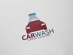 Car Wash Logo by Josuf Media on Creative Market
