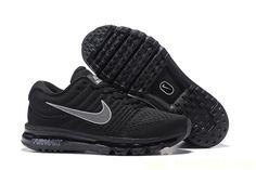 Nike Air Max 2017 Black Mesh Shoes