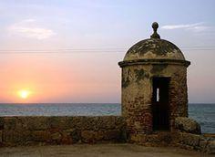 La muralla - Cartagena de Indias