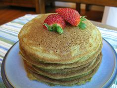 My family can't get enough of these nut-free plantain-based pancakes.  They are so easy to make (and flip!) that I don't mind at all!