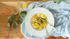 Soupe crémeuse poulet et coco | Zeste