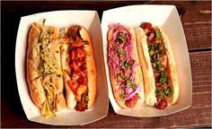 ผลการค้นหารูปภาพสำหรับ New york hotdogs street food vendor