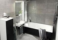 Harmaat laatat Bathtub, Bathroom, Home, Standing Bath, Washroom, Bathtubs, Bath Room, Ad Home, Homes