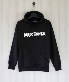 Buy Directioner Hoodie AYThis hoodie is Made To Order, one by one printed so we can control the quality. We use newest DTG Technology to print on to Directioner Hoodie AY One Direction Hoodies, One Direction Outfits, Hoodie Outfit, Hoodie Jacket, Outfits For Teens, Cool Outfits, Classy Outfits, Casual Outfits, Direct To Garment Printer