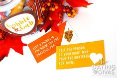 Thanksgiving Conversation Starters - From The Dating Divas