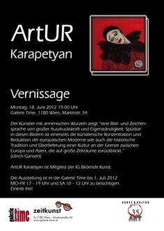ArtUR Karapetyan  Europäische Moderne mit armenischen Wurzeln - Vernissage  Montag, 18. Juni 2012 19.00 Uhr - www.galerie-time.at Juni, Culture, Reading, Books, Roots, Libros, Book, Reading Books, Book Illustrations