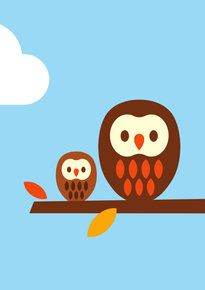 Dicky Bird - 2 Owls