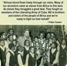 Re: Castro's Cuba offers free Medical Schools to African Americans and Latinos. Black History Facts, Black History Month, History Education, African Diaspora, African American History, Black Power, World History, Black People, Black Pride