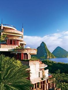 Tropical Romantic Vacation Spot St Lucia