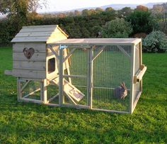 rabbit house and run... If I ever get a rabbit again.