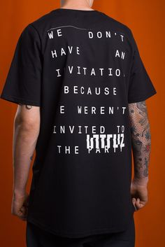 Intruz Clothing - party tee_