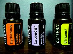 """do it yourself- essential oils """"Brilliance Blend"""" ~ 6 drops Frankincense, 6 drops Lavender, 5 drops Bergamot top with Fractionated coconut oil in 10 ml bottle."""