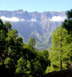 Caldera de Taburiente National Park on La Palma photo from: http://www.crusadertravel.com/canaries/la_palma.html