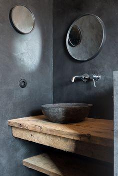 rustic modern | bathroom