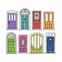 Front Door Drawing front door doodles | door drawings | pinterest | front doors