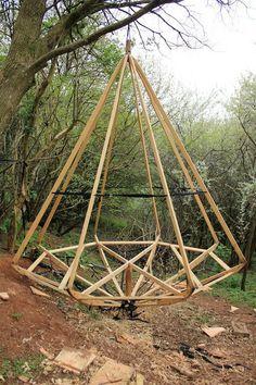 Rowan Stickland's new pod #alternativearchitecture #architecture #tipi