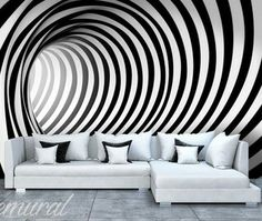 [ Black And White Wall Murals Photo Wallpapers Monochromatic View All Abstract Texture ] - Best Free Home Design Idea & Inspiration 3d Wallpaper Green, Wall Art Wallpaper, Black And White Wallpaper, Photo Wallpaper, Black White, Wall Painting Decor, Wall Decor, Black And White Art Drawing, 3d Home