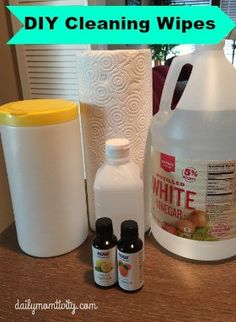A tutorial on how to make homemade cleaning wipes in three different diy cleaning wipes that you can make right now for less than 50 cents http solutioingenieria Image collections