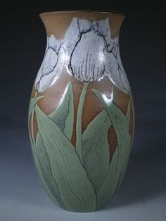 Tulip Vase by Nan Hamilton