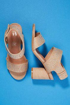 31e79ba76e8bdb Vanessa Wu Studded Heeled Sandals Shoes Heels Wedges, Top Shoes, Heeled  Sandals, Shoes