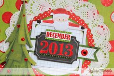 BoBunny: Capture your December memories with an Elf Magic Misc Me Journal