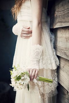 Mitones de encaje de Imma Clé #novia #bride