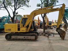 KOMATSU PC120 excavator, 12 ton Komatsu PC120 excavator, 0.5m³  PC120 tracked excavator