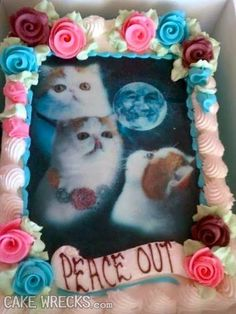 This is one weird cake.