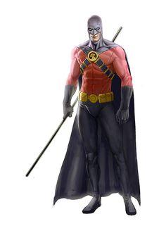 Red Robin by John Derek Murphy Batman Sidekicks, Superhero Villains, Alex Ross, Comic Book Characters, Comic Character, Character Design, Comic Books, Robins, Nightwing