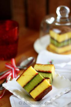 Bisous À Toi: Come fly with me - Green Tea Lapis Surabaya