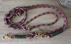 Hundeleine TAU - mehrfach verstellbar Etsy, Personalized Items, Vintage, Bracelets, Jewelry, Fashion, Linen Fabric, Schmuck, Moda