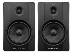 M-Audio BX8D2 Powered studio monitor speakers. $500.00/pair.