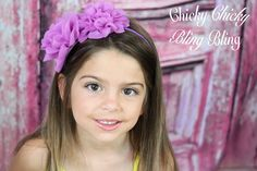 Girls Fairy Flower Headband