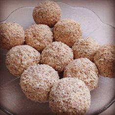 Szafi FItt túrógombóc Krispie Treats, Rice Krispies, Fitt, Paleo, Muffin, Breakfast, Desserts, Foods, Morning Coffee