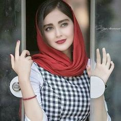Weißes Mädchen aus persischem Mann
