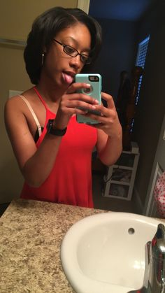 First time flat ironing since big chop! 05/06/16