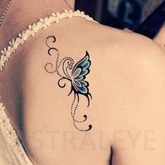 Tattoos that symbolize strength and femininity Tattoo stickers blue .- Tattoos that symbolize strength and femininity Tattoo stickers blue butterfly … – tatoo – Foot Tattoos, New Tattoos, Body Art Tattoos, Tatoos, Cross Tattoos, Feminine Tattoos, Unique Tattoos, Pretty Tattoos, Beautiful Tattoos