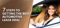 Automotive leasing or vehicle leasing is an amazing concept, but how do you get the best automotive leasing deal. Here are some important steps to get the best Automotive Lease Deal.  #AutomotiveLeaseDeal #AutomotiveLeasingGuide #CarLesing #VehicleLeasing