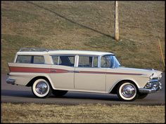 ROADTRIP! 1959 Rambler Cross Country Wagon    #MecumKC