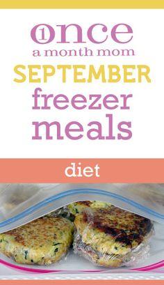 September 2012 Freezer Meals