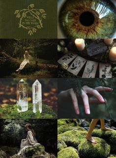 "Witch Aesthetics // Nature Witch ""Request "" Artist Witch 