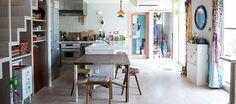手作りでアレンジ独創性を発揮する家は白いキャンバス