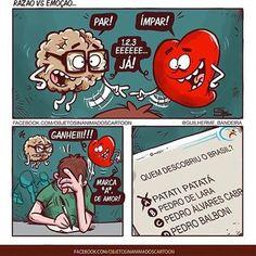 Top Memes, Funny Memes, Jokes, Heart Vs Mind, Otaku Meme, Funny Love, Funny Comics, Some Fun, Haha