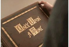 Storybook from Once Upon A Time TV show