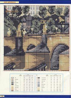 Прага Cross Stitch, City, Pattern, Praha, Buildings, Punto De Cruz, Tapestries, Houses, Goblin